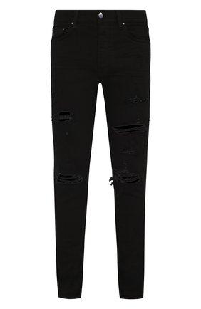 Мужские джинсы AMIRI черного цвета, арт. XM01203SD | Фото 1