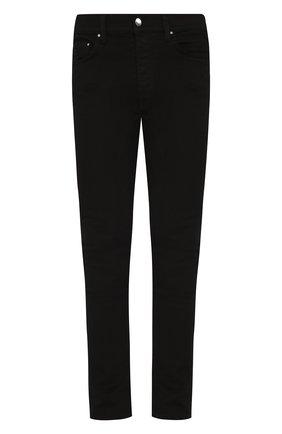 Мужские джинсы AMIRI черного цвета, арт. XM01201SD | Фото 1