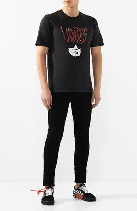 Мужские джинсы AMIRI черного цвета, арт. XM01201SD | Фото 2