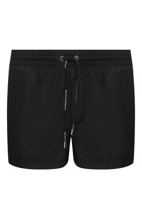Детского плавки-шорты DOLCE & GABBANA черного цвета, арт. M4A67T/FUSFW | Фото 1