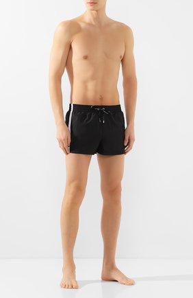 Детского плавки-шорты DOLCE & GABBANA черного цвета, арт. M4A67T/FUSFW | Фото 2