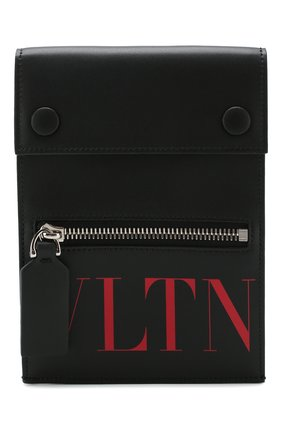 Кожаная сумка Valentino Garavani VLTN | Фото №1