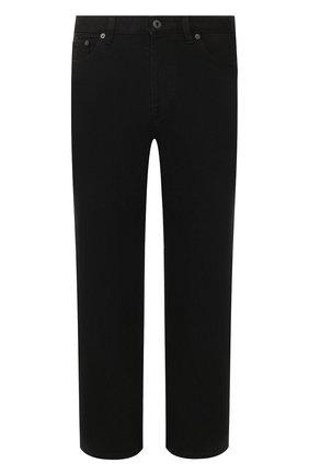 Мужские джинсы VALENTINO черного цвета, арт. TV3DE00T609 | Фото 1