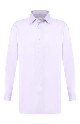 Мужская хлопковая сорочка BRIONI сиреневого цвета, арт. RCL829/P804G | Фото 1