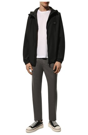 Мужская куртка DOLCE & GABBANA черного цвета, арт. G9PW2T/HUMEX | Фото 2
