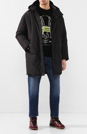 Мужская пуховик ODRI черного цвета, арт. 19220108 | Фото 2