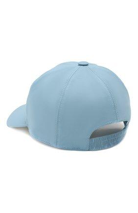 Женская текстильная бейсболка LORO PIANA голубого цвета, арт. FAI6059 | Фото 2