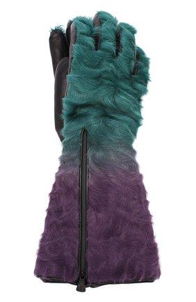 Женские перчатки MONCLER разноцветного цвета, арт. E2-098-00528-10-A0097 | Фото 1