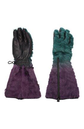 Женские перчатки MONCLER разноцветного цвета, арт. E2-098-00528-10-A0097 | Фото 2