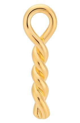 серебряная брошь BOTTEGA VENETA золотого цвета, арт. 590485/VAHU0 | Фото 1