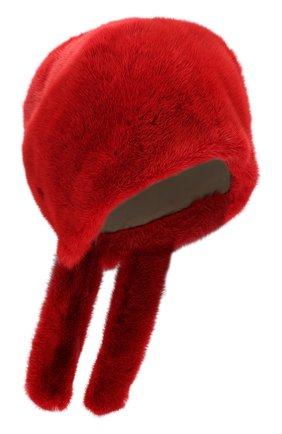 Женский косынка из меха норки FURLAND красного цвета, арт. 0160800110208600676 | Фото 1