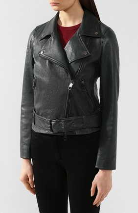 Кожаная куртка | Фото №3