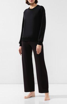 Женская свитшот I.D. SARRIERI черного цвета, арт. A3006_FW19_фв19 | Фото 2