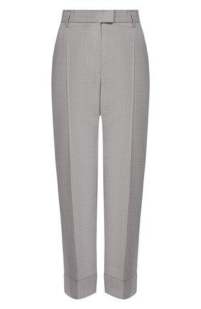 Женские шерстяные брюки ESCADA SPORT светло-серого цвета, арт. 5032454 | Фото 1