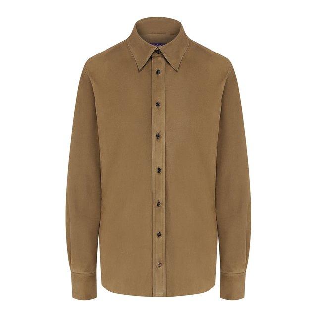 Замшевая рубашка Ralph Lauren