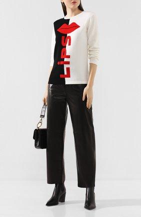 Женский шерстяной пуловер ESCADA SPORT разноцветного цвета, арт. 5031845 | Фото 2