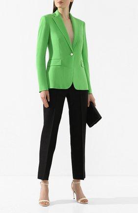 Женский шерстяной жакет RALPH LAUREN зеленого цвета, арт. 290788647 | Фото 2