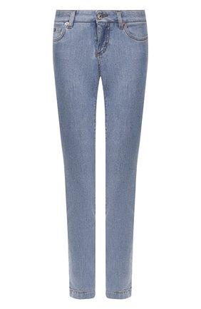 Женские джинсы DOLCE & GABBANA темно-синего цвета, арт. FTAH7D/G899P | Фото 1