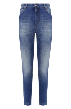 Женские джинсы DOLCE & GABBANA темно-синего цвета, арт. FTAH6D/G8990 | Фото 1