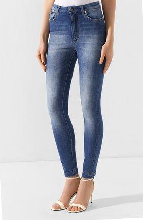 Женские джинсы DOLCE & GABBANA темно-синего цвета, арт. FTAH6D/G8990   Фото 3