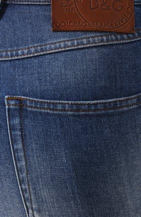 Женские джинсы DOLCE & GABBANA темно-синего цвета, арт. FTAH6D/G8990   Фото 5