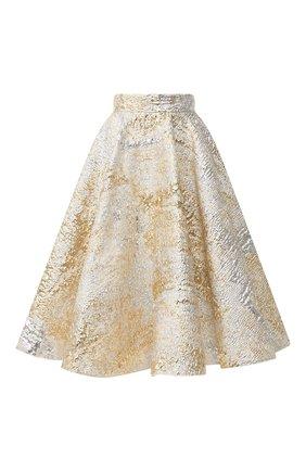 Женская юбка DOLCE & GABBANA золотого цвета, арт. F4BS6T/HJMJS | Фото 1