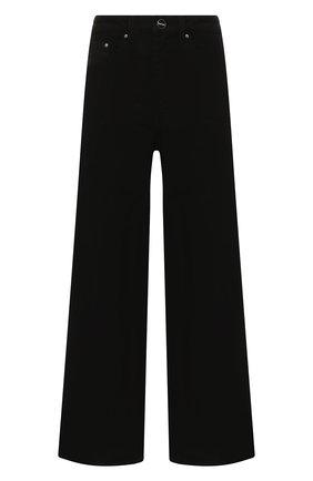 Женские джинсы TOTÊME черного цвета, арт. FLAIR DENIM 32 193-230-744 | Фото 1