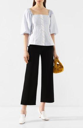 Женские джинсы TOTÊME черного цвета, арт. FLAIR DENIM 32 193-230-744 | Фото 2