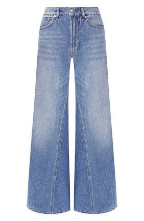 Женские джинсы GANNI голубого цвета, арт. F3633 | Фото 1
