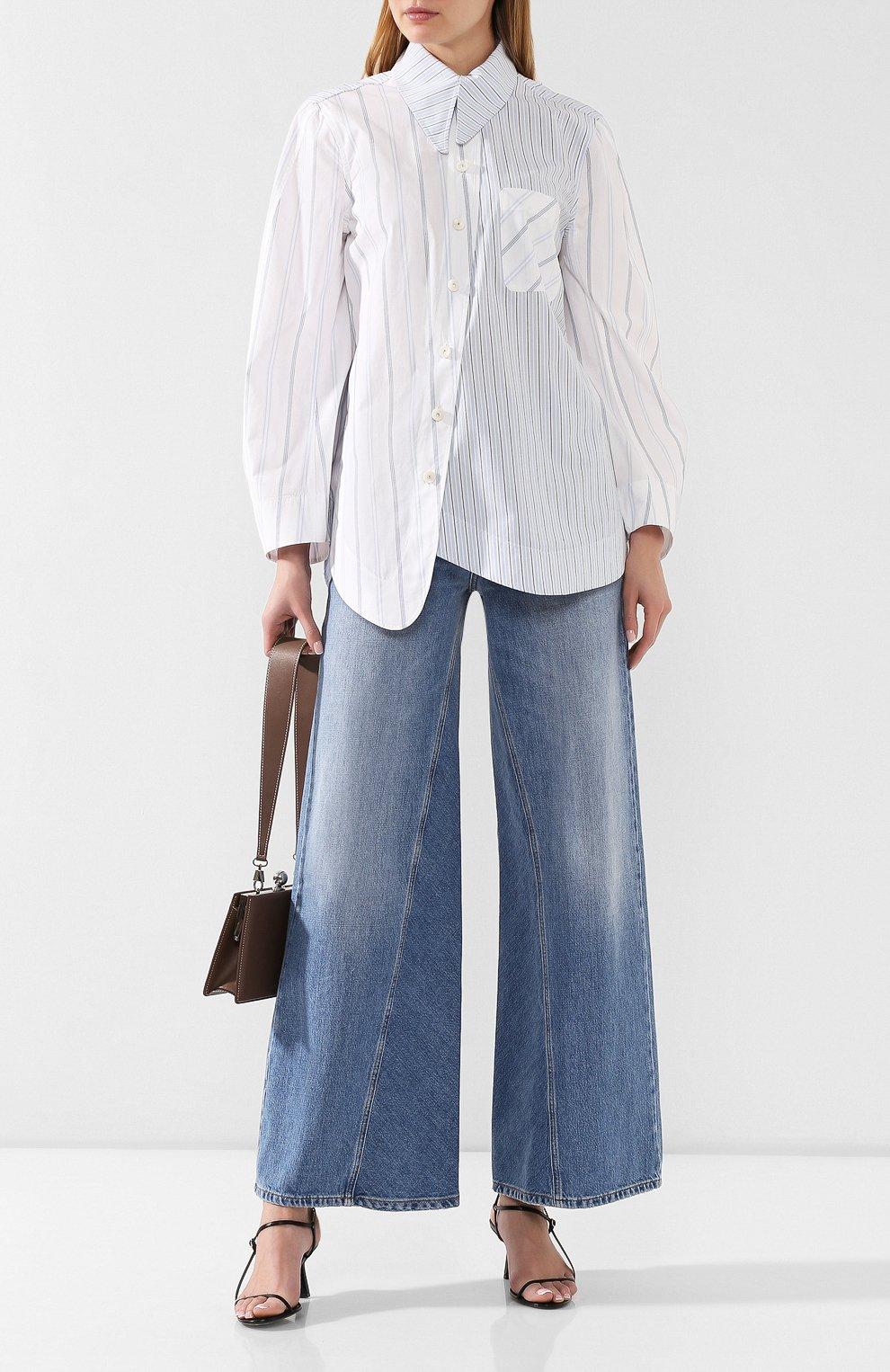 Женские джинсы GANNI голубого цвета, арт. F3633 | Фото 2
