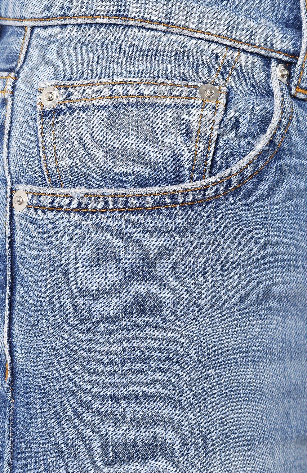 Женские джинсы GANNI голубого цвета, арт. F3633 | Фото 5
