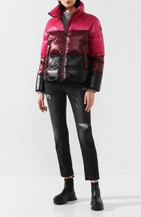 Женский пуховая куртка WOOLRICH разноцветного цвета, арт. WWCPS2841/UT1702 | Фото 2