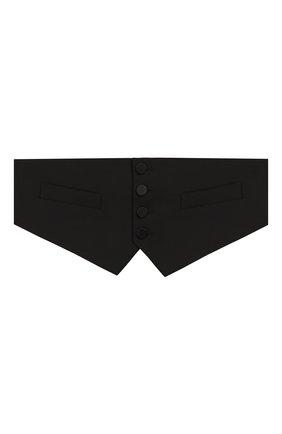 Мужской камербанд DSQUARED2 черного цвета, арт. S74FB0249/S39408 | Фото 1