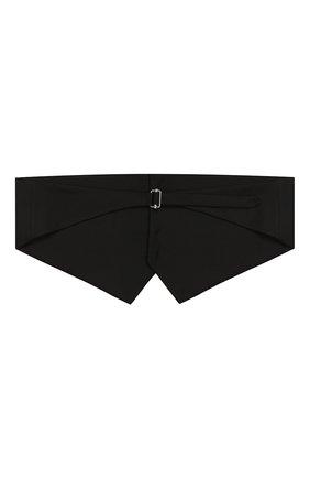 Мужской камербанд DSQUARED2 черного цвета, арт. S74FB0249/S39408 | Фото 2