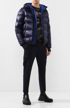 Мужская пуховая куртка hintertux MONCLER GRENOBLE темно-синего цвета, арт. E2-097-40303-05-53071   Фото 2