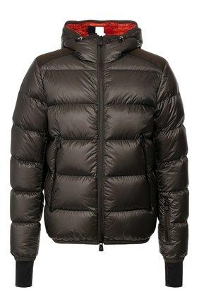 Мужская пуховая куртка hintertux MONCLER GRENOBLE хаки цвета, арт. E2-097-40303-05-53071 | Фото 1