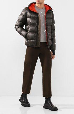 Мужская пуховая куртка hintertux MONCLER GRENOBLE хаки цвета, арт. E2-097-40303-05-53071 | Фото 2