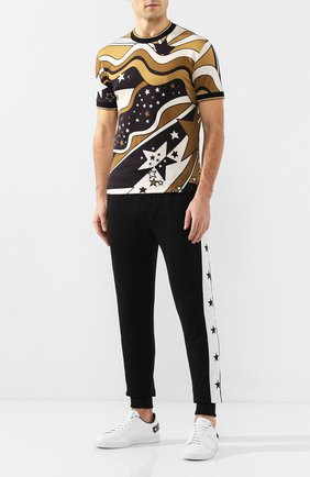 Мужская хлопковая футболка DOLCE & GABBANA разноцветного цвета, арт. G8KV9T/FI7FT | Фото 2