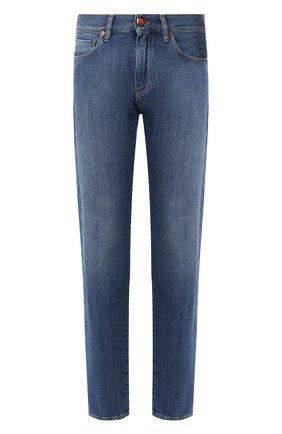 Мужские джинсы GIORGIO ARMANI синего цвета, арт. 3HSJ65/SDF3Z | Фото 1