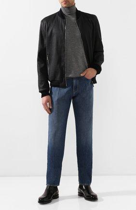 Мужские джинсы GIORGIO ARMANI синего цвета, арт. 3HSJ65/SDF3Z | Фото 2