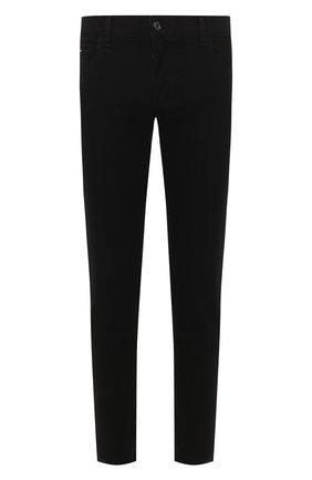 Мужские джинсы DOLCE & GABBANA черного цвета, арт. GY07CD/G8BQ8 | Фото 1