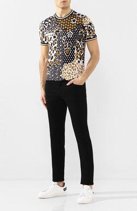 Мужские джинсы DOLCE & GABBANA черного цвета, арт. GY07CD/G8BQ8 | Фото 2