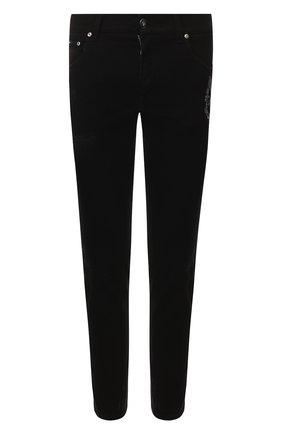 Мужские джинсы DOLCE & GABBANA черного цвета, арт. GW40LZ/G8BV0 | Фото 1