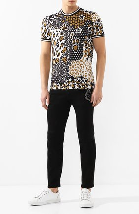 Мужские джинсы DOLCE & GABBANA черного цвета, арт. GW40LZ/G8BV0 | Фото 2