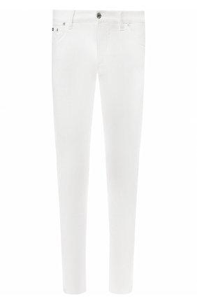 Мужские джинсы DOLCE & GABBANA белого цвета, арт. GY07LD/G8Y13 | Фото 1