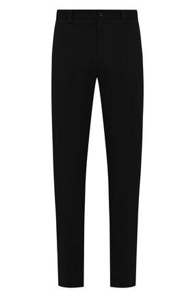 Мужской хлопковые брюки DOLCE & GABBANA черного цвета, арт. GY6IET/FUFJR | Фото 1