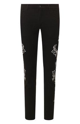 Мужские джинсы DOLCE & GABBANA черного цвета, арт. GYC4LD/G8BY0 | Фото 1