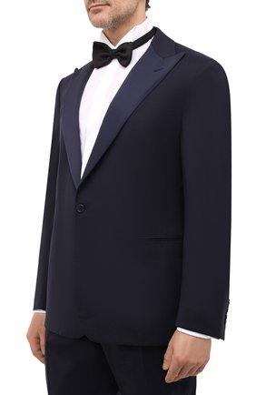 Мужской шерстяной смокинг RALPH LAUREN темно-синего цвета, арт. 798772604 | Фото 2