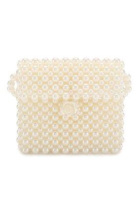 Детская сумка DAVID CHARLES белого цвета, арт. 4607 | Фото 1
