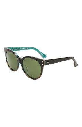 Детские солнцезащитные очки OLIVER GOLDSMITH зеленого цвета, арт. BALK0 | Фото 1